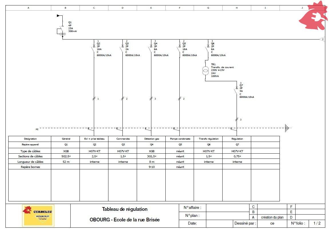 Cerbelec - Régulation de chauffage